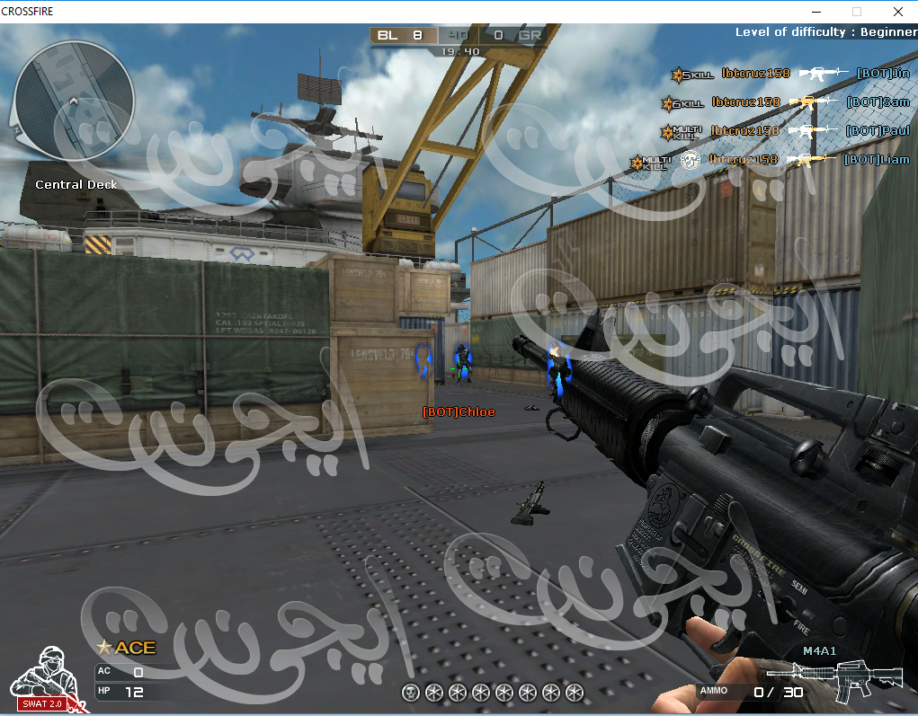 هاك كروس فاير جديدة JLoader - Aimbot - SuperkillBody - WeaponHax