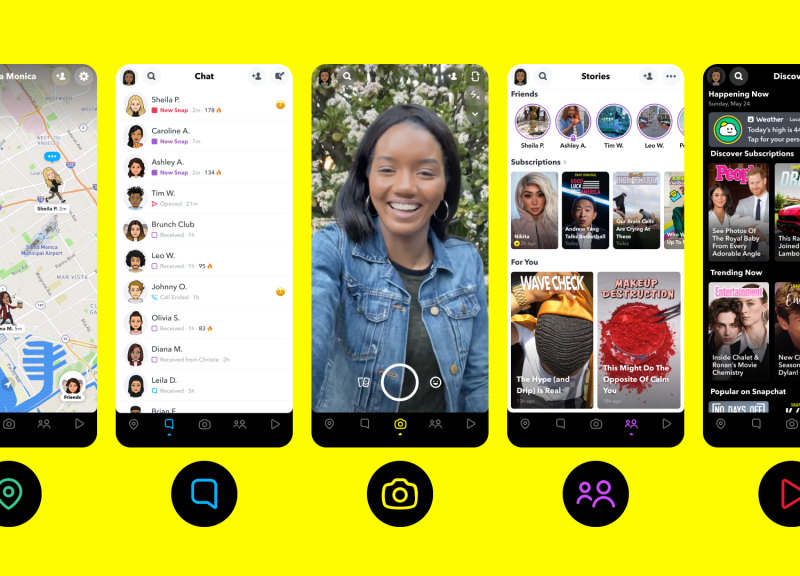 تحميل تطبيق سناب شات للاندرويد Snapchat